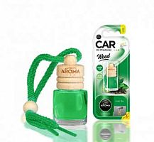 АРОМАТИЗАТОР AROMA CAR WOOD GREEN TEA 63119