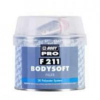 ШПАТЛЕВКА BODY F 211 BODYSOFT 0 25 КГ. ПОЛИЭФИРНАЯ НАПОЛНЯЮЩАЯ